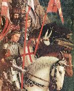 EYCK, Jan van The Soldiers of Christ (detail) oil painting picture wholesale